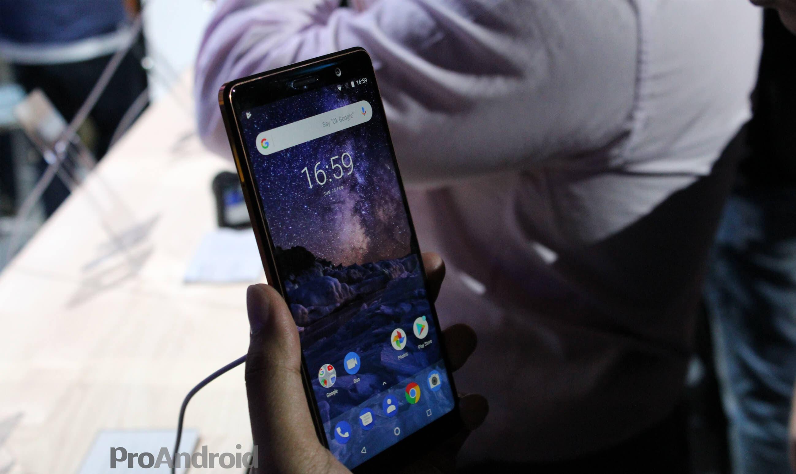 Nokia 7 Plus pantalla