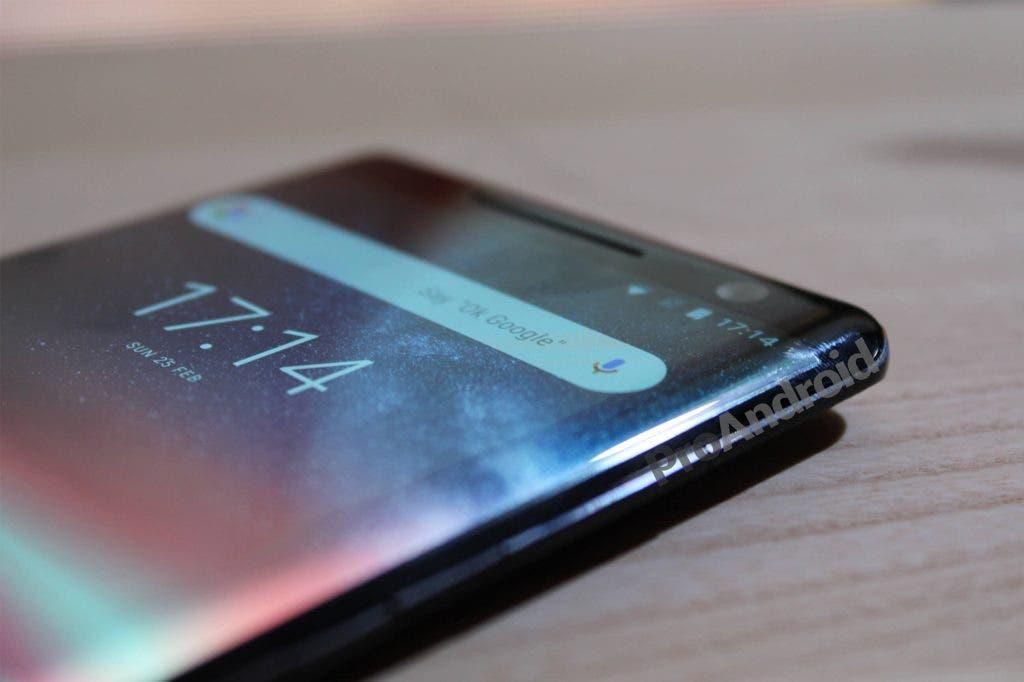 Nokia 8 Sirocco pantalla