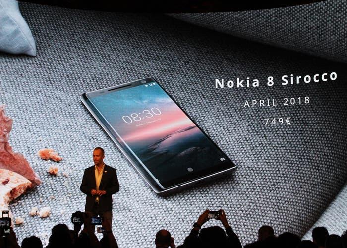 Nokia 8 Sirocco Precio