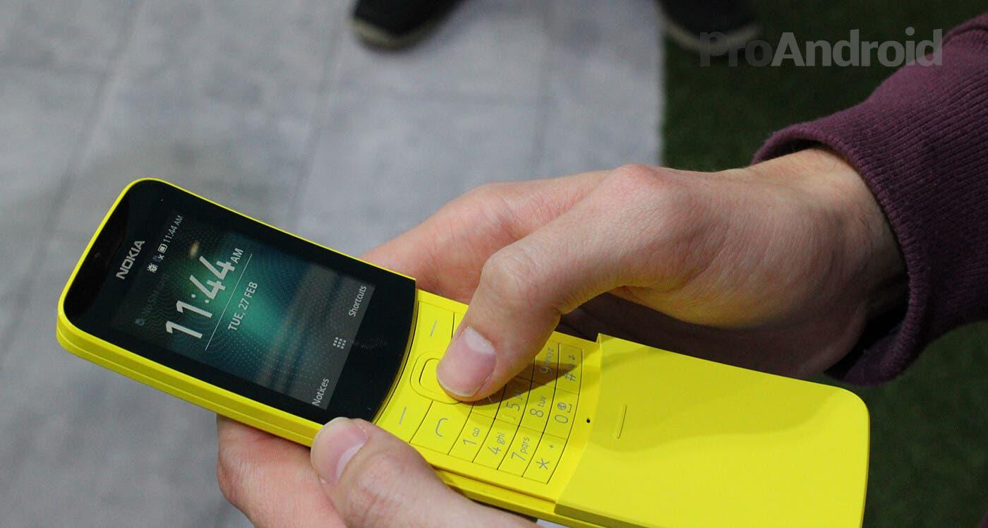 Usando el Nokia 8110