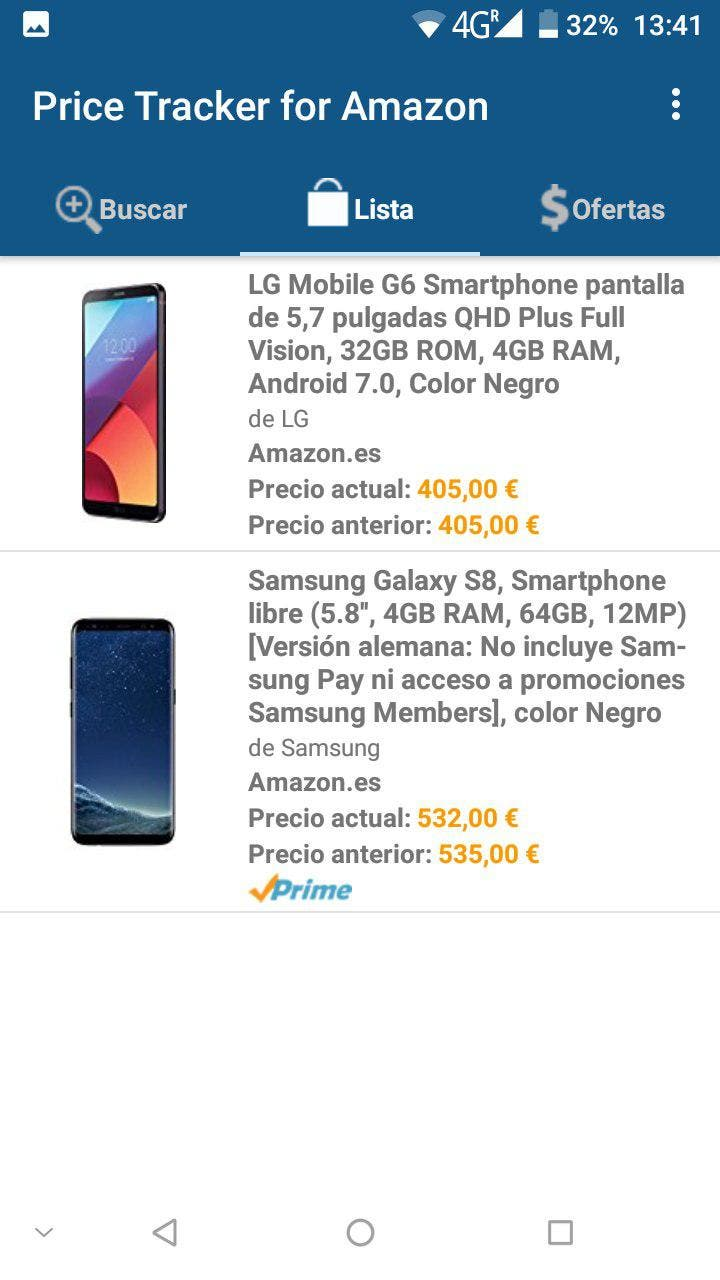 aplicacion Price Tracker for Amazon