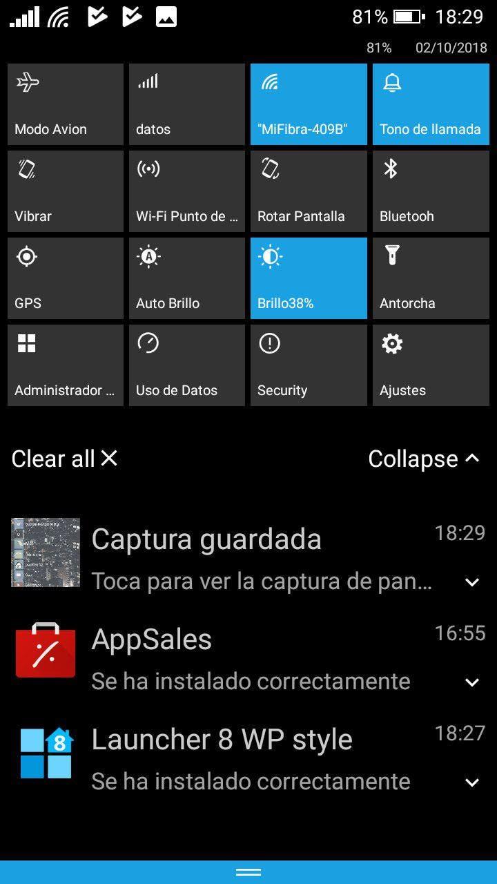 windows phone en android