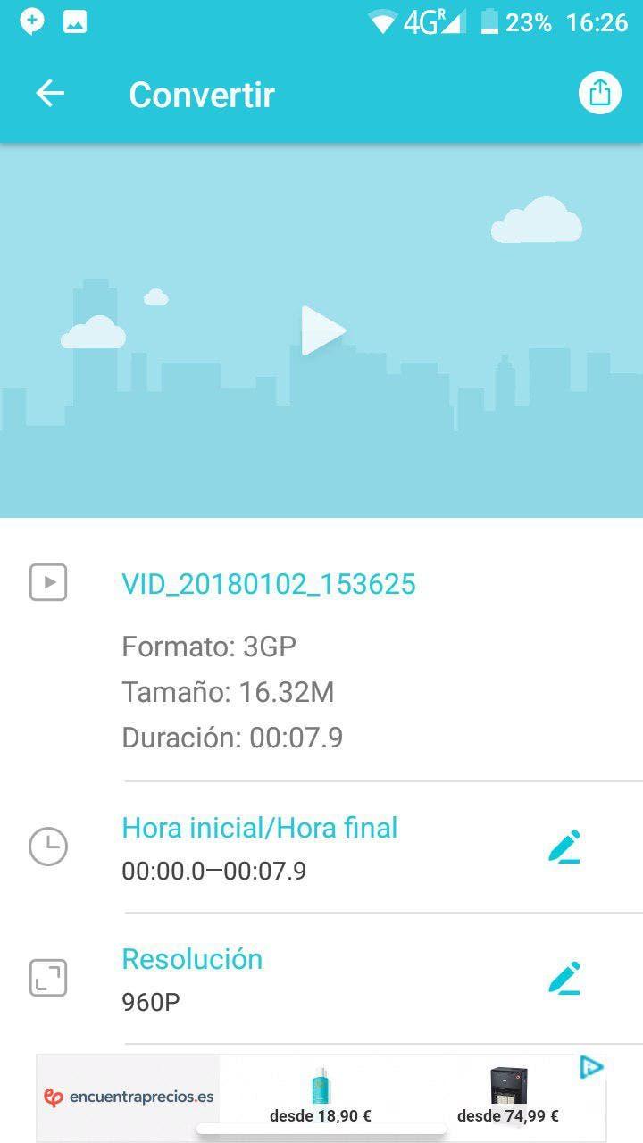vidcompact aplicacion android