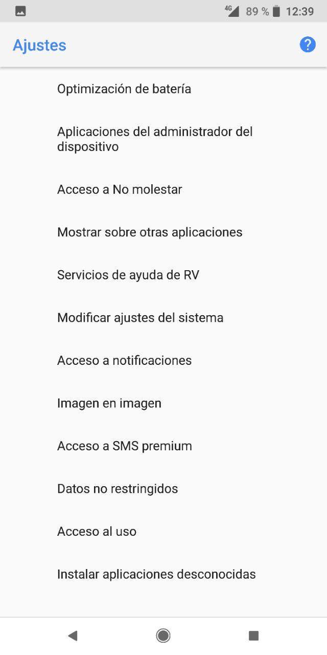 instalar aplicaciones desde orígenes desconocidos en Android Oreo