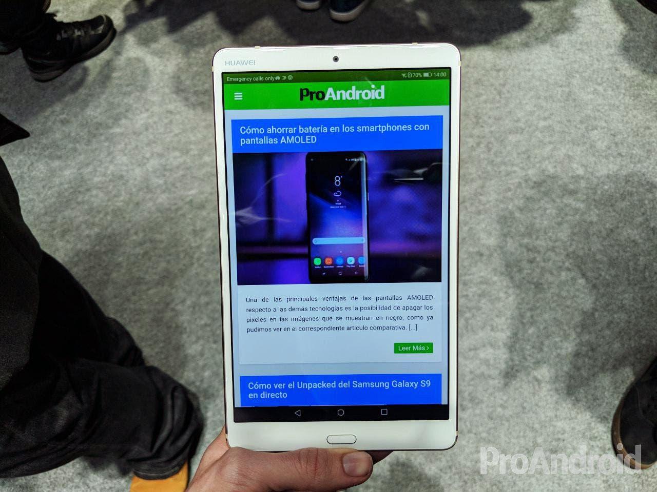 Huawei MediaPad M5: toda la información de la nueva tablet de Huawei