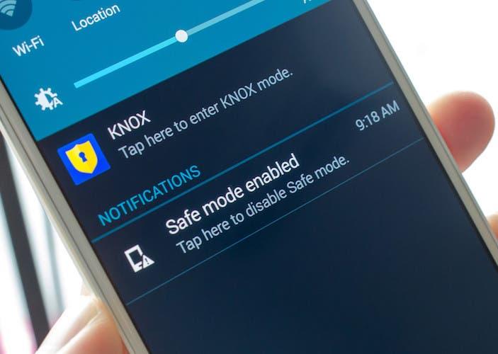 Cómo entrar y salir del modo seguro en Android