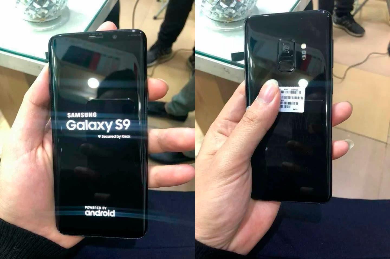 Imágenes reales del Samsung Galaxy S9