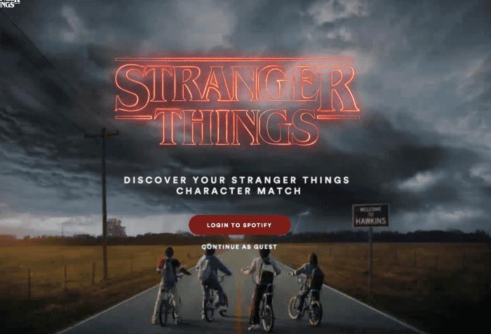 Modo Stranger Things de Spotify, el nuevo easter egg de la serie en Spotify