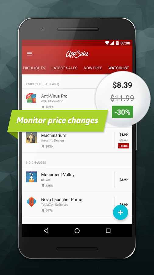 AppSales aplicacion android