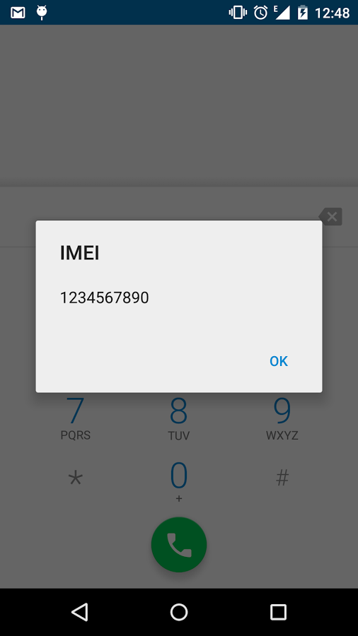 ver imei en android