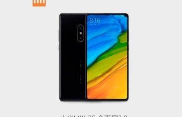 Esta captura de pantalla confirma las características del Xiaomi Mi MIX 2S