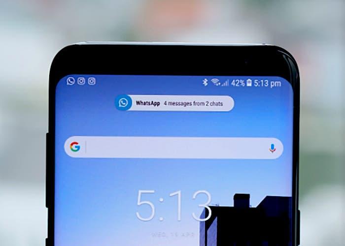 Cómo tener las notificaciones del Samsung Galaxy S9 en cualquier smartphone