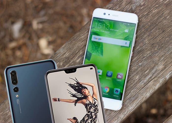 Huawei P20 vs Huawei P10: ¿merece la pena el cambio?