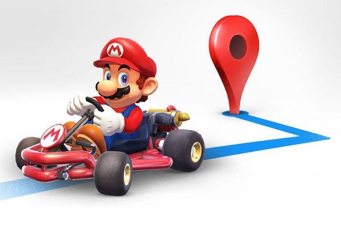 Cómo tener a Super Mario Kart en Google Maps