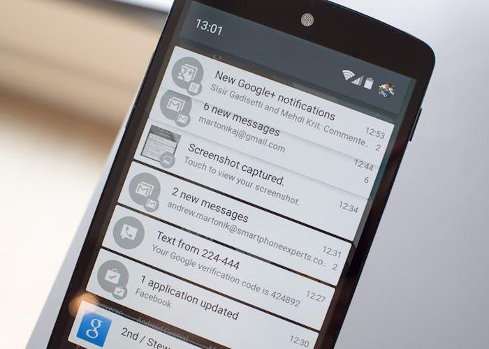 Cómo hacer que la pantalla se encienda al recibir notificaciones