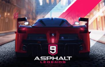 Asphalt 9: Legends llega oficialmente al Play Store y ya se puede descargar