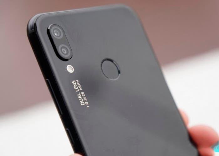 camara del Huawei p20