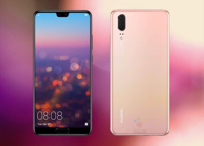 El Huawei P20 vendrá sin la cámara de 40 mpx y zoom 5X del P20 Pro