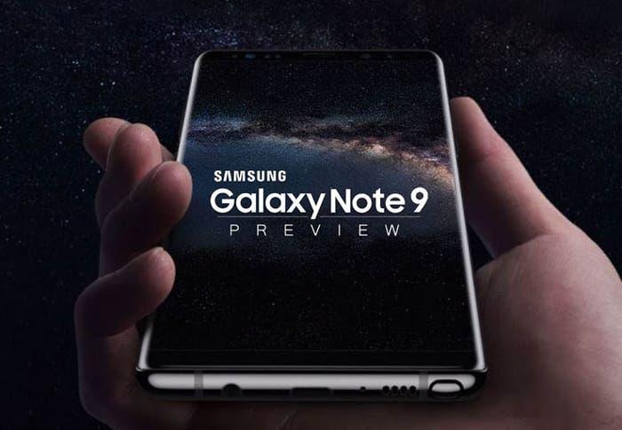 Filtrados los primeros detalles del Samsung Galaxy Note 9