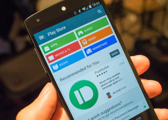 La aplicación de Google Play sufre un pequeño rediseño