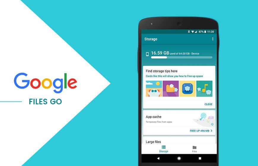 Google Files Go se actualiza para añadir más opciones y ahorrarte otras aplicaciones