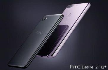 HTC Desire 12 y 12+: así son los nuevos gama media con pantalla 18:9 de HTC