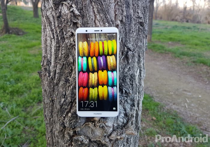 pantalla del Huawei P Smart