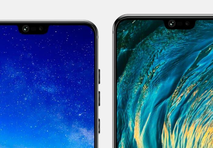 Confirmado el diseño del Huawei P20, P20 Lite y P20 Pro: todos con notch y solo uno con triple cámara