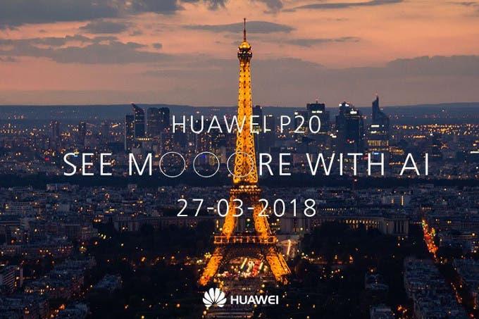 presentación del huawei p20
