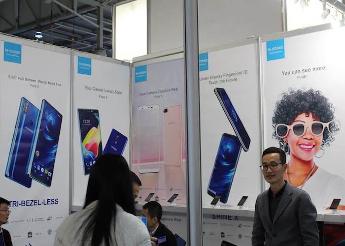 Otro smartphone con sensor de huellas en pantalla vendrá de la mano de M-Horse