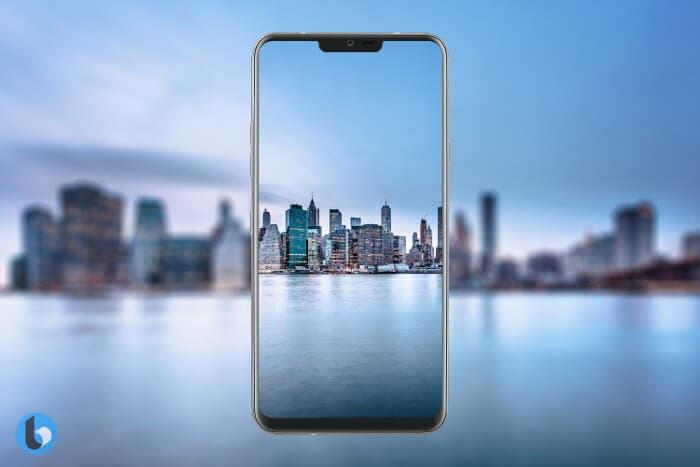 Filtrada una imagen real del LG G7 ThinQ que revela su diseño frontal