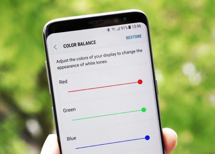 Cómo calibrar los colores de la pantalla en Android
