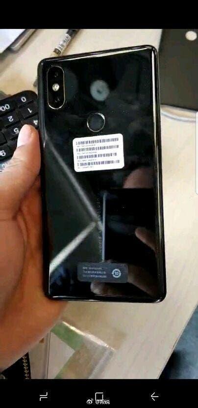 diseño del Xiaomi Mi MIX 2S