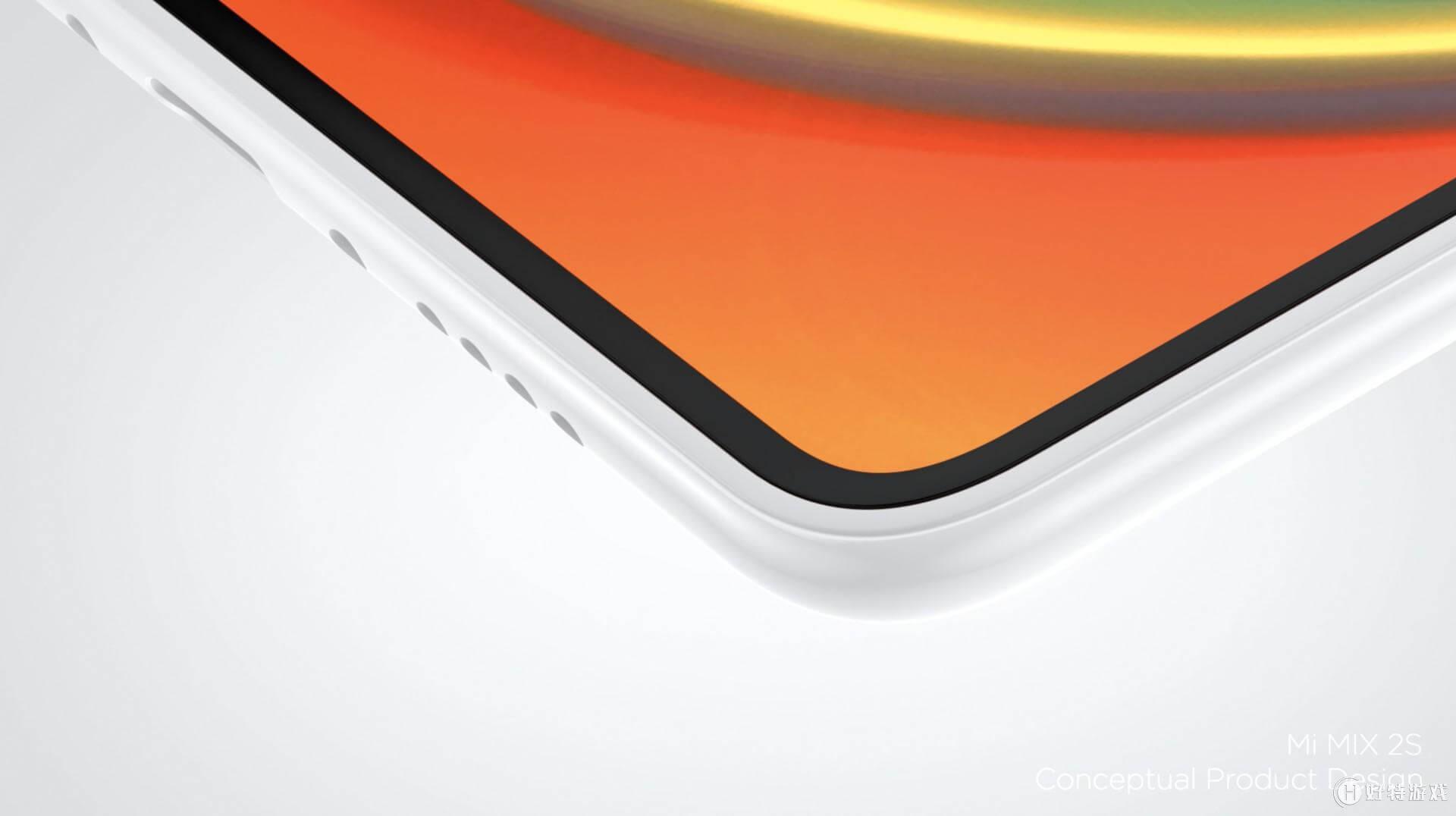 bisel del Xiaomi Mi MIX 2s