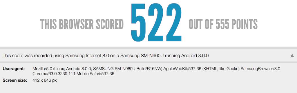 características del Samsung Galaxy Note 9 filtradas