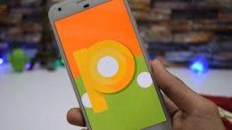 android p en el pixel