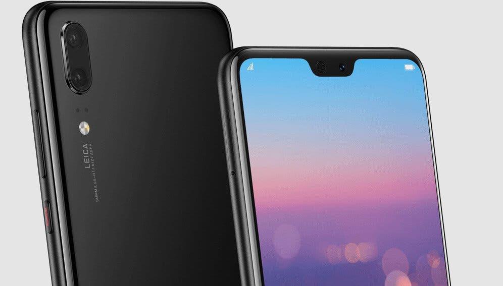 Huawei P20 pantalla