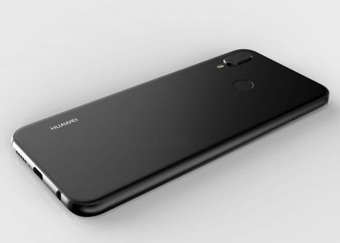 Nueva imagen del Huawei P20 Lite filtrada muestra un diseño parecido al iPhone X