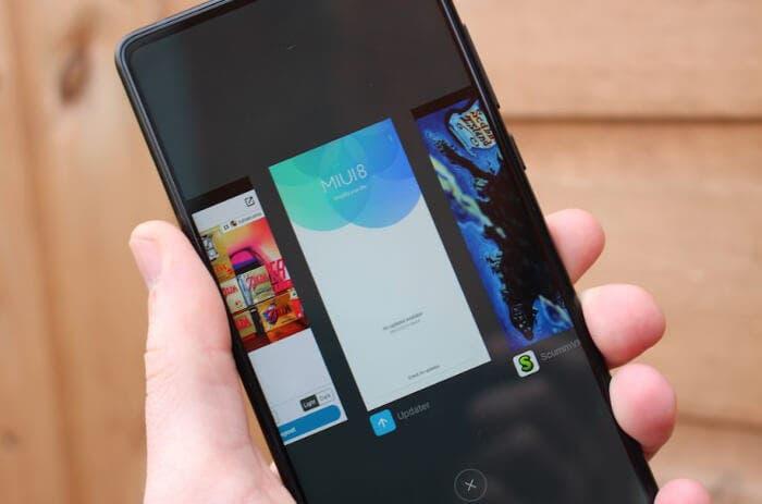 pantalla del Xiaomi mi mix 2s