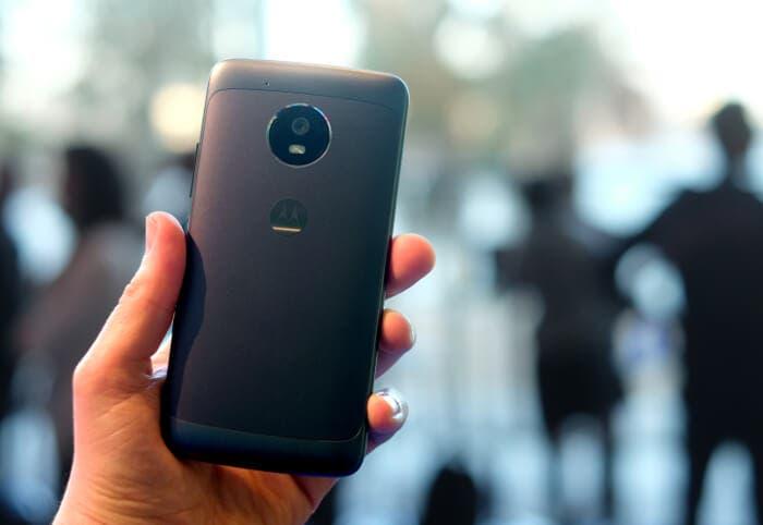 Nueva oferta del Motorola Moto G5: 90 euros de descuento