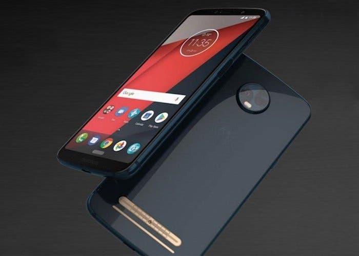Nuevas fundas filtradas del Motorola Moto Z3 Play nos dejan ver su diseño
