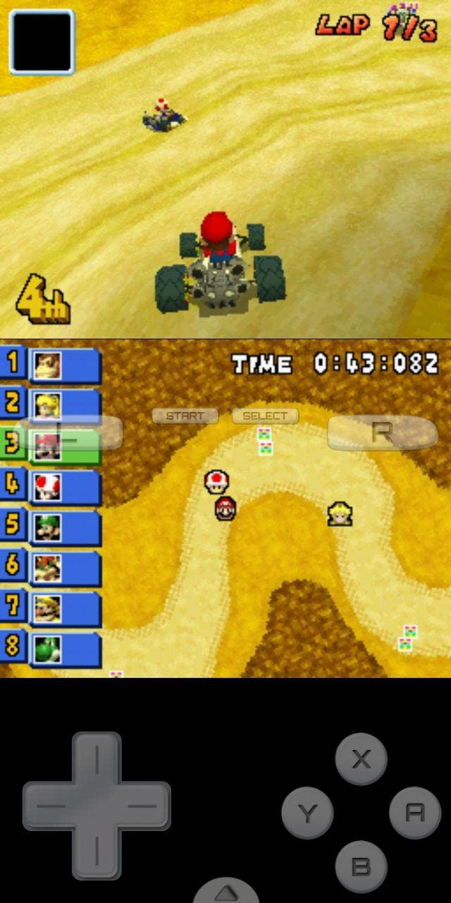 instalar Mario Kart DS en Android