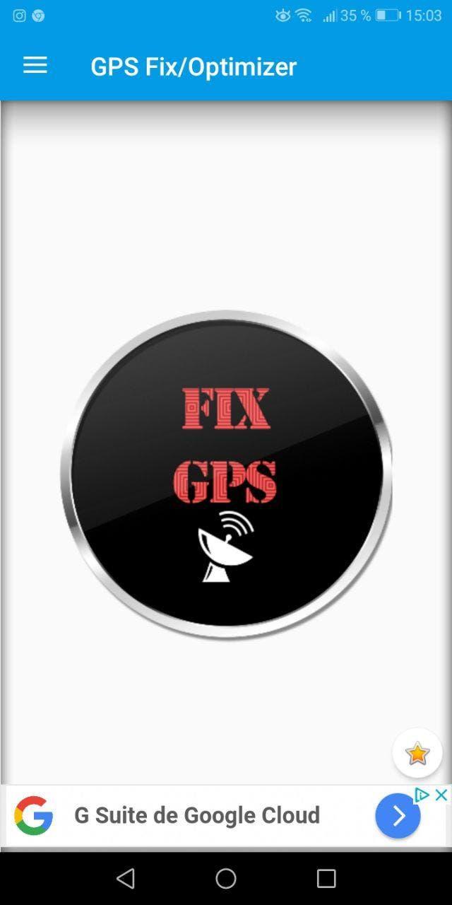 arreglar el gps en android