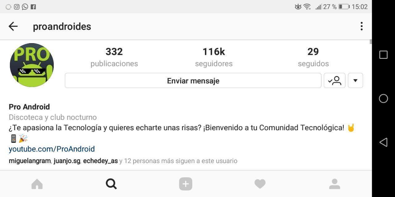 instagram de pro android