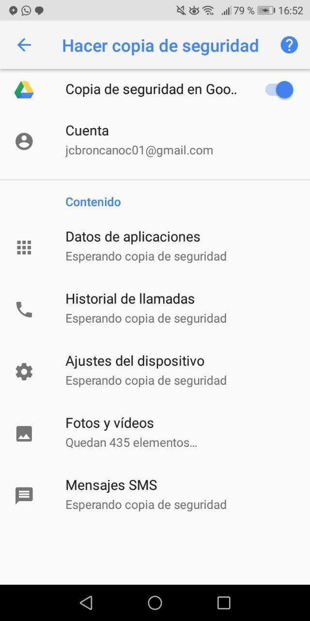 redes WiFi guardadas en Android