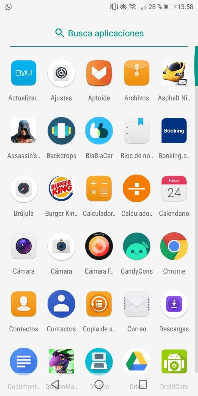 launcher del Xiaomi Mi A1