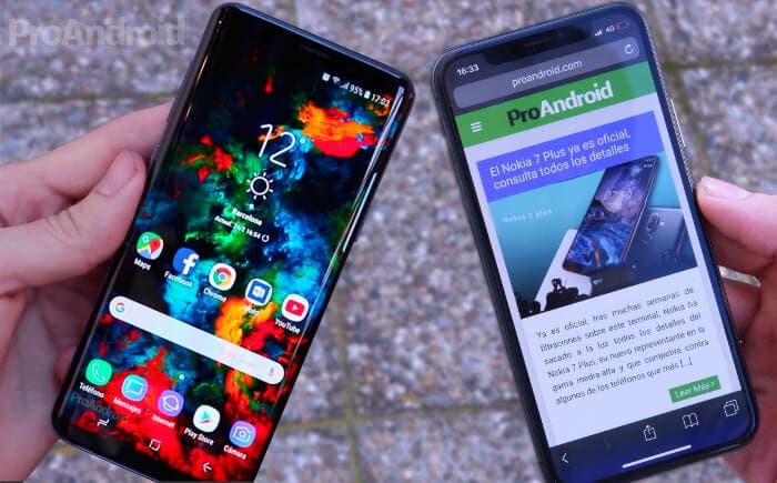 Samsung Galaxy S9 vs iPhone X: ¿cuál es más resistente a las caídas?