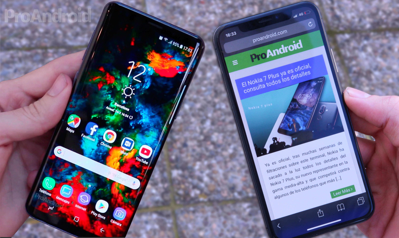 Samsung Galaxy S9 vs iPhone X: ¿cuál es más rápido abriendo aplicaciones?