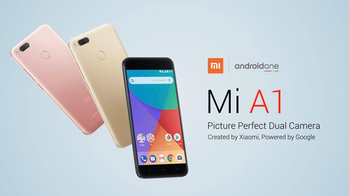 promo del Xiaomi mi a1