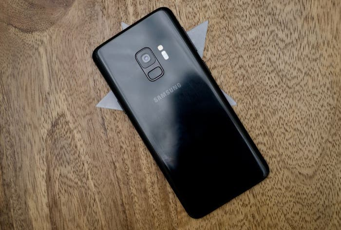 Parte trasera del Galaxy S9